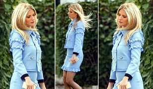 LOOK OF THE DAY: Gwyneth Paltrow w błękitach Gucci