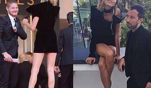 Super szczupłe i oszałamiająco długie nogi Rubik w Cannes. Sexy?
