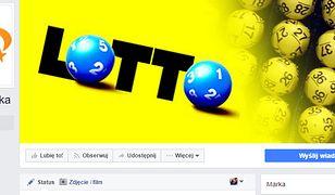 Nie daj się naciągnąć na oszustów podszywających się pod Lotto na Facebooku