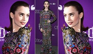 LOOK OF THE DAY: Lily Collins w haftach