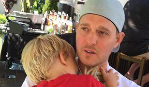 Syn Michaela Bublé wraca do zdrowia