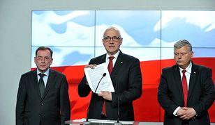 Mariusz Kamiński, Joachim Brudziński, Marek Suski