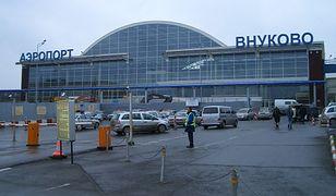 Lotnisko Wnukowo w Moskwie