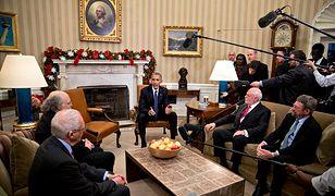 Ostatnie święta rodziny Obama w Białym Domu