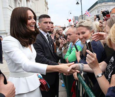 Księżna Kate podczas wizyty w Polsce