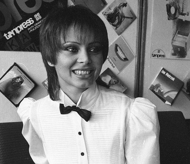 Izabela Trojanowska,1982 r.