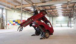 Transformer ze starego Forda Fiesty
