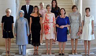 To zdjęcie przejdzie do historii. Wśród pierwszych dam na szczycie NATO znalazł się mąż premiera Luksemburga