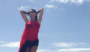 Justyna Steczkowska na słonecznych wakacjach?