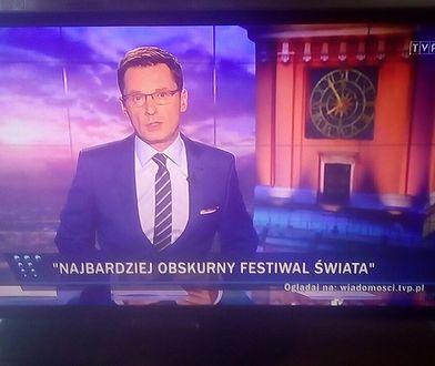 """Prowadzący """"Wiadomości"""", Krzysztof Ziemiec"""