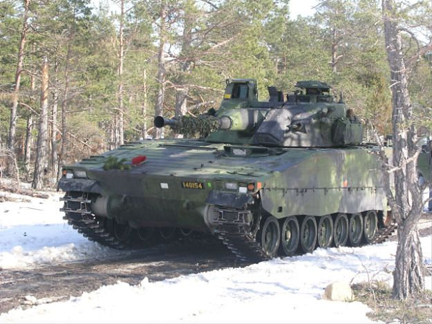 Szwedzki wóz bojowy piechoty CV90