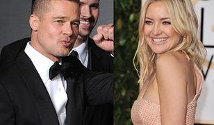 """Brad Pitt romansuje z Kate Hudson? """"Bardzo się do siebie zbliżyli"""""""