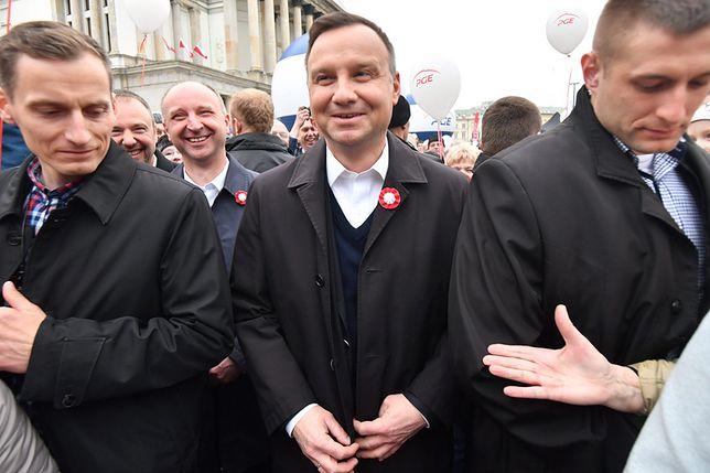 Prezydent Andrzej Duda 3 maja