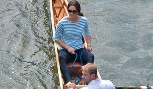 Księżna Kate na zawodach wioślarskich