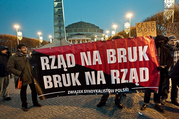 Protest przeciw ACTA we Wrocławiu