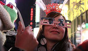 Nowy Jork witał Nowy Rok