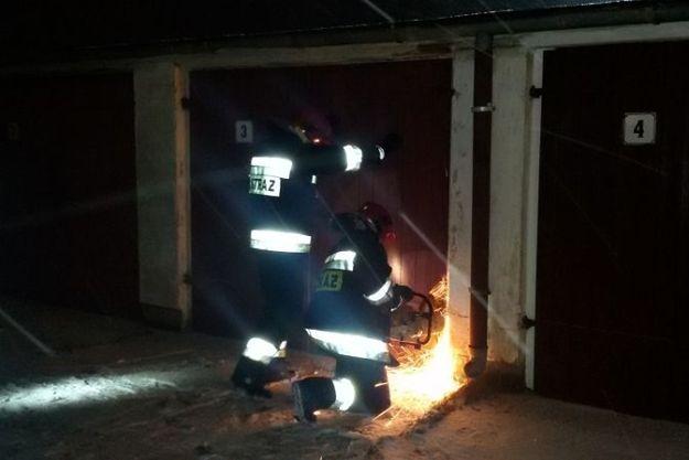 Dwie osoby zginęły w pożarze w Pile