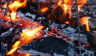 Polski turysta zgubił się w lesie i rozpalił ognisko