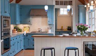 Kuchnie w  kolorze blue. Piękne aranżacje