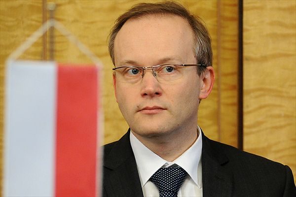 Prezes IPN Łukasz Kamiński