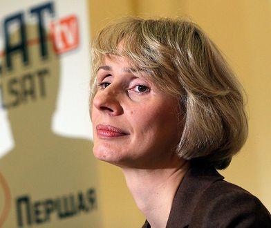 fot: AKPA Opis: Jubileusz 15 - lecia TV Polonia, 29.06.2008 r., fot. Andrzej Engelbrecht/AKPA Na zdj. Agnieszka Romaszewska-Guzy