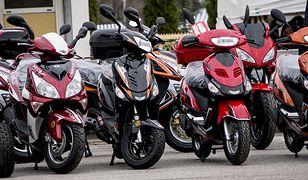 Od początku roku 2016 zarejestrowaliśmy mniej nowych motocykli i motorowerów