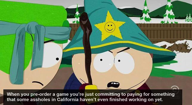 """Eric Cartman, bohater serialu """"South Park"""", bezlitośnie podsumował, czym jest dla niego preorder"""
