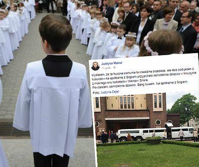 Limuzyną na spotkanie z Bogiem. 8-latka podjechała niczym celebryci z Warsaw Shore