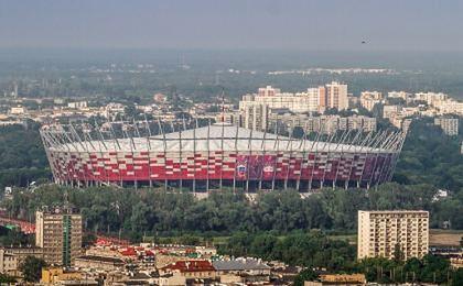 Stadion Narodowy ciągle w budowie