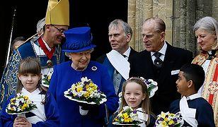 Królowa rozdała jałmużnę