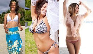 Sezon na bikini rozpoczęty. Gwiazdy chwalą się swoimi kształtami