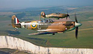 Samoloty Spitfire i Hurricane - zwycięstwo w Bitwie o Anglię uchroniło Wyspy przed inwazją