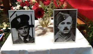 Plut. Henryk Sikorski i por. Maciej Socharski z Dywizjonu 305, którzy polegli 76 lat temu podczas wyprawy na Bremę.