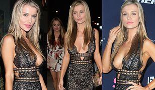 Ponętna Joanna Krupa z siostrą na imprezie w Hollywood