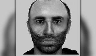 Opublikowany przez policję portret domniemanego przestępcy