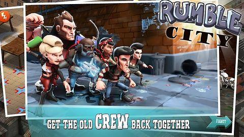 Rumble City to pierwsza gra mobilna od twórców Just Cause 3 i Mad Maksa
