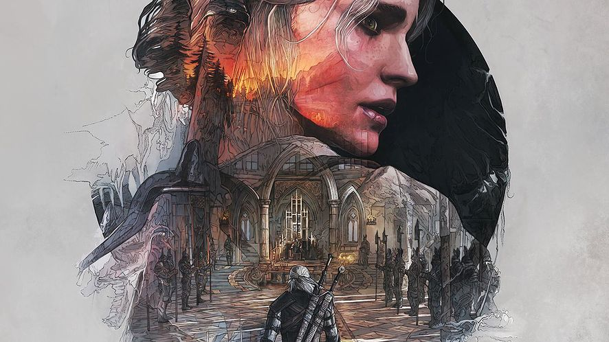 Fenomenalne ilustracje na steelbookach Wiedźmina 3: Dziki Gon