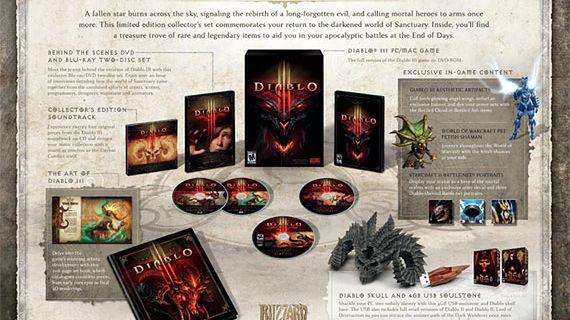 Diablo III Collector's Edition, czyli Blizzard dostarcza