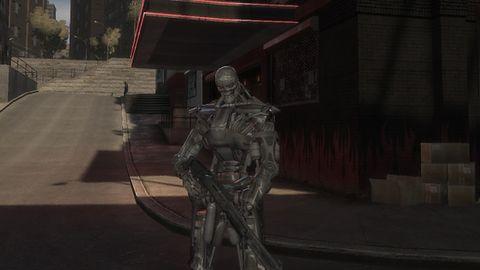 Czemu gra Terminator nie może wyglądać jak ten mod do GTA IV?