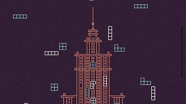 Granie w Tetrisa z wykorzystaniem okien Pałacu Kultury i Nauki? Tak, już niebawem!