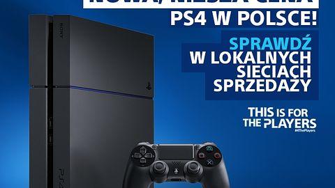 PlayStation 4 tanieje w Europie