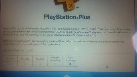 A gdyby PlayStation Plus odblokowywało przenośne wersje gier, kupionych na PS3?