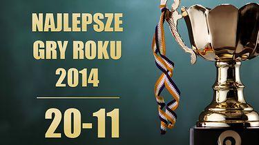 30 najlepszych gier 2014 roku według redakcji Polygamii - miejsca 20-11