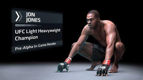 EA Sports UFC w 1080p, ale z 30 klatkami animacji na sekundę