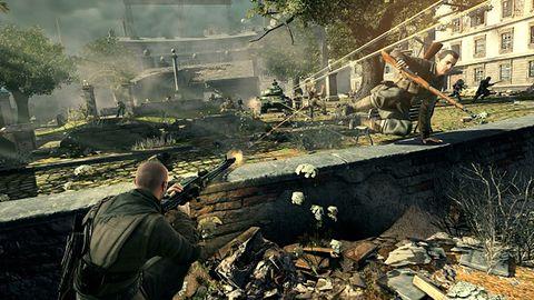 Sniper Elite V2 na konsolach bez Team Deathmatch