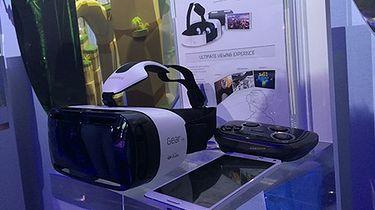 Samsung też wchodzi w wirtualną rzeczywistość. Firma pokazała swój pomysł na gogle