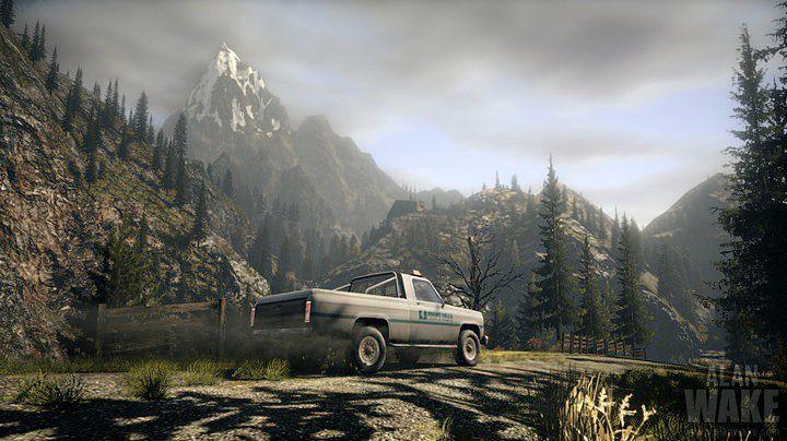 Nostalgiczny pickup z Alan Wake