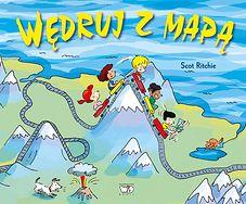 Książeczka Wędruj z mapą