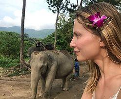 Bez makijażu i w bikini wygląda jak nastolatka. Joanna Moro w Tajlandii