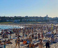 Australia. Zignorowali ostrzeżenia. 10 zarażonych po imprezie na plaży